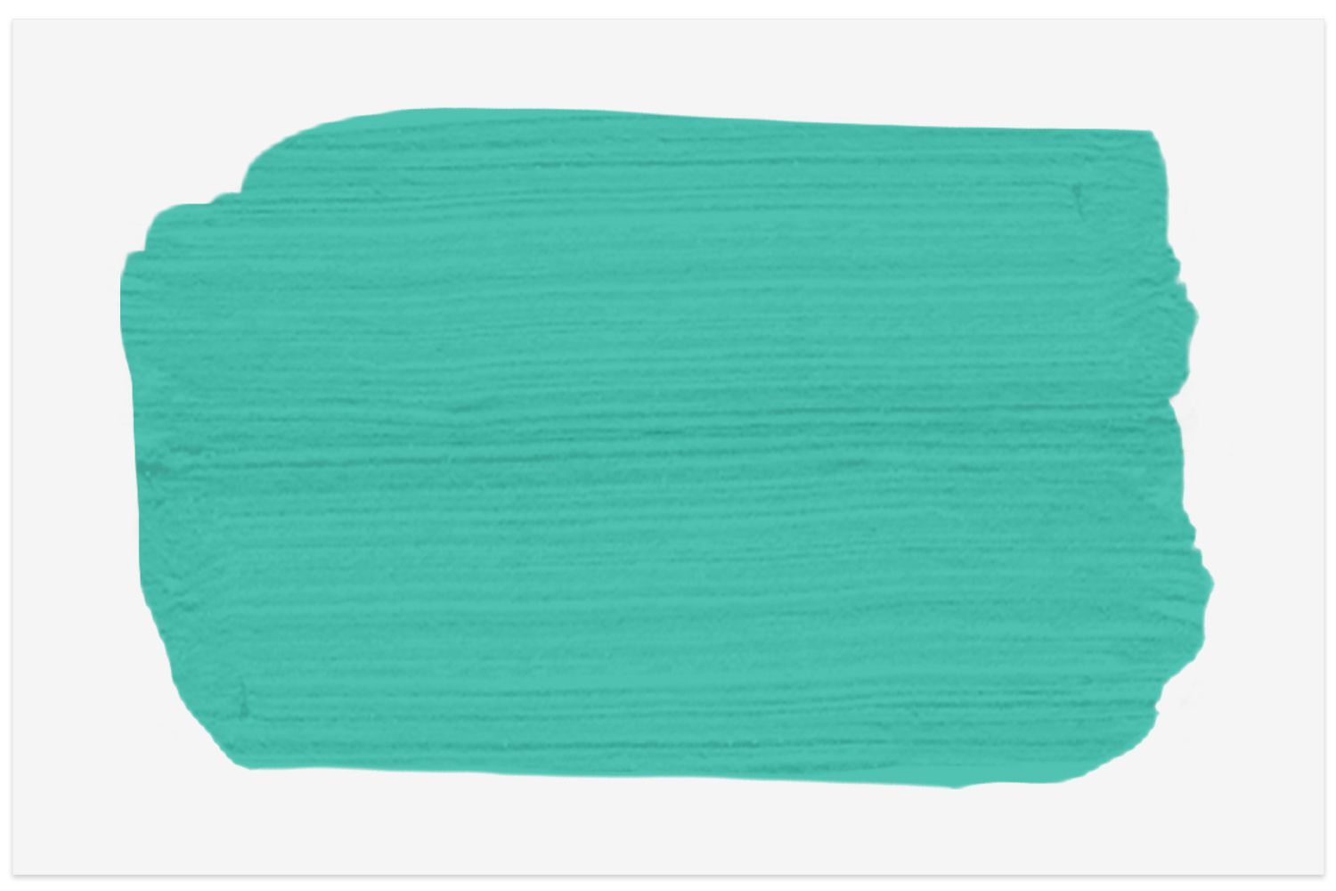 Miami Teal paint swatch from Benjamin Moore