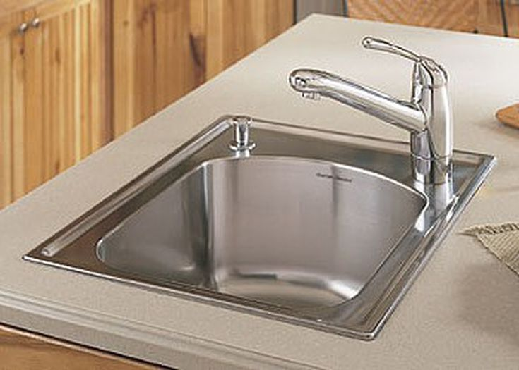 Replacing a Drop-In, Surface-Mounted Sink