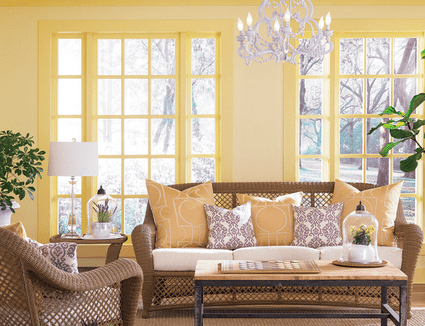 28 Painted Ceiling Ideas
