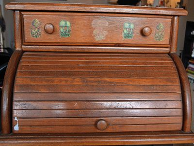 This Is How You Refurbish A Vintage Bread Box - 5 Items You'll Need Before Refurbishing That Piece Of Furniture