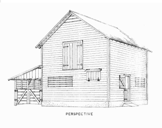 6 Free Barn Plans