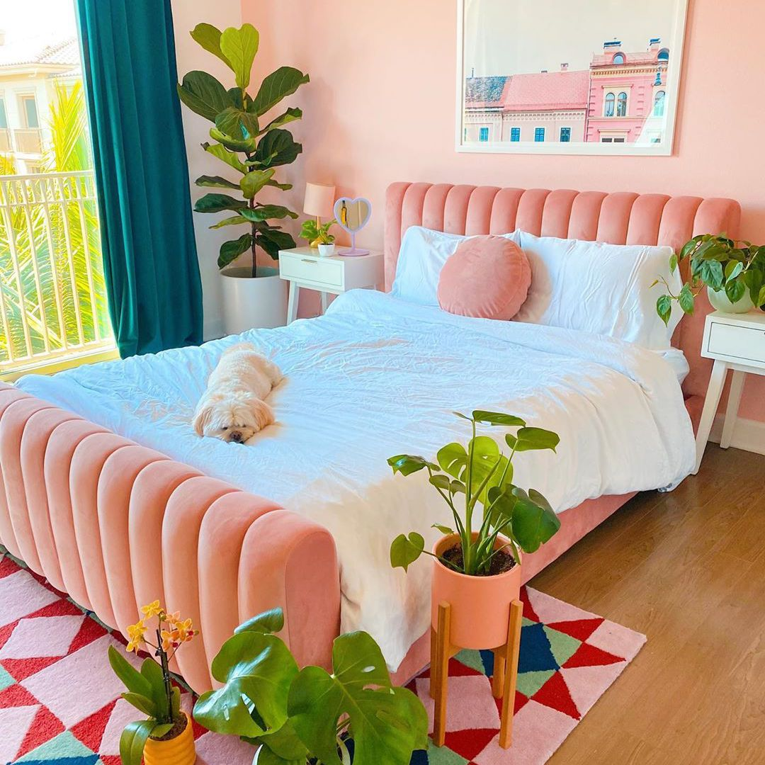 12 Pink Bedrooms for Your Next Makeover