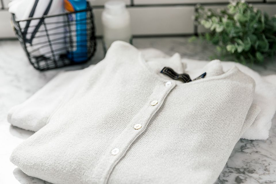 hand-washed cardigan