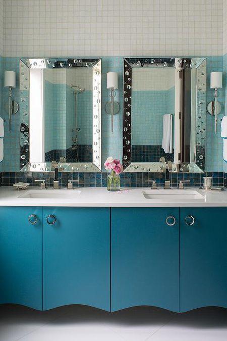 blue bathroom - Blue Bathroom