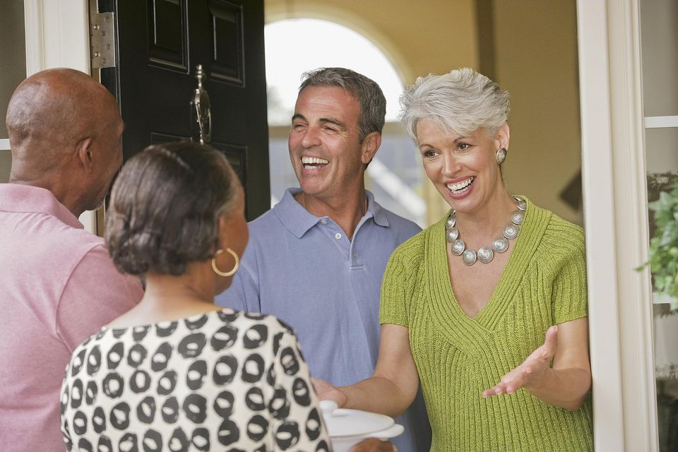 Make houseguests feel welcome.