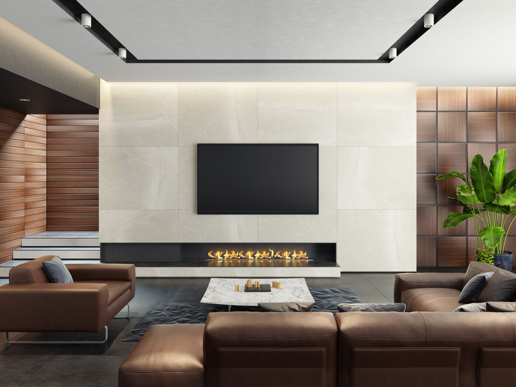 Should You Mount Your Tv Over Your Fireplace