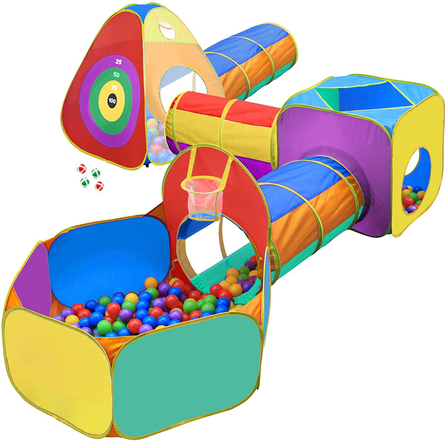 Hide N Side Ball Pit, Play Tent and Tunnels