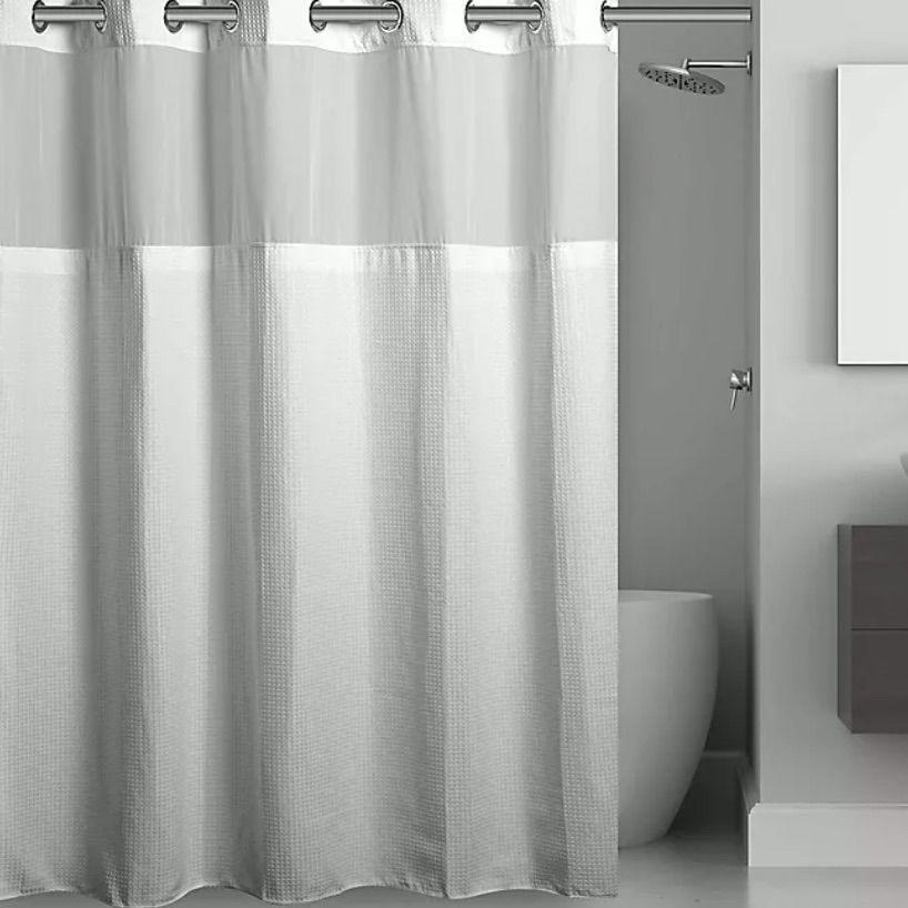 The 8 Best Shower Curtains Of 2021, Unique Shower Curtain Rod Ideas