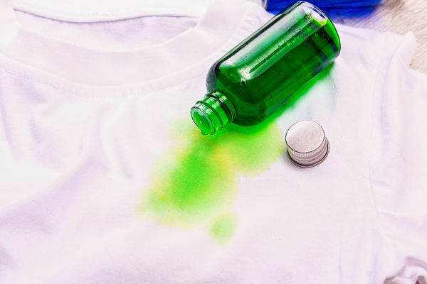 food coloring stain on shirt
