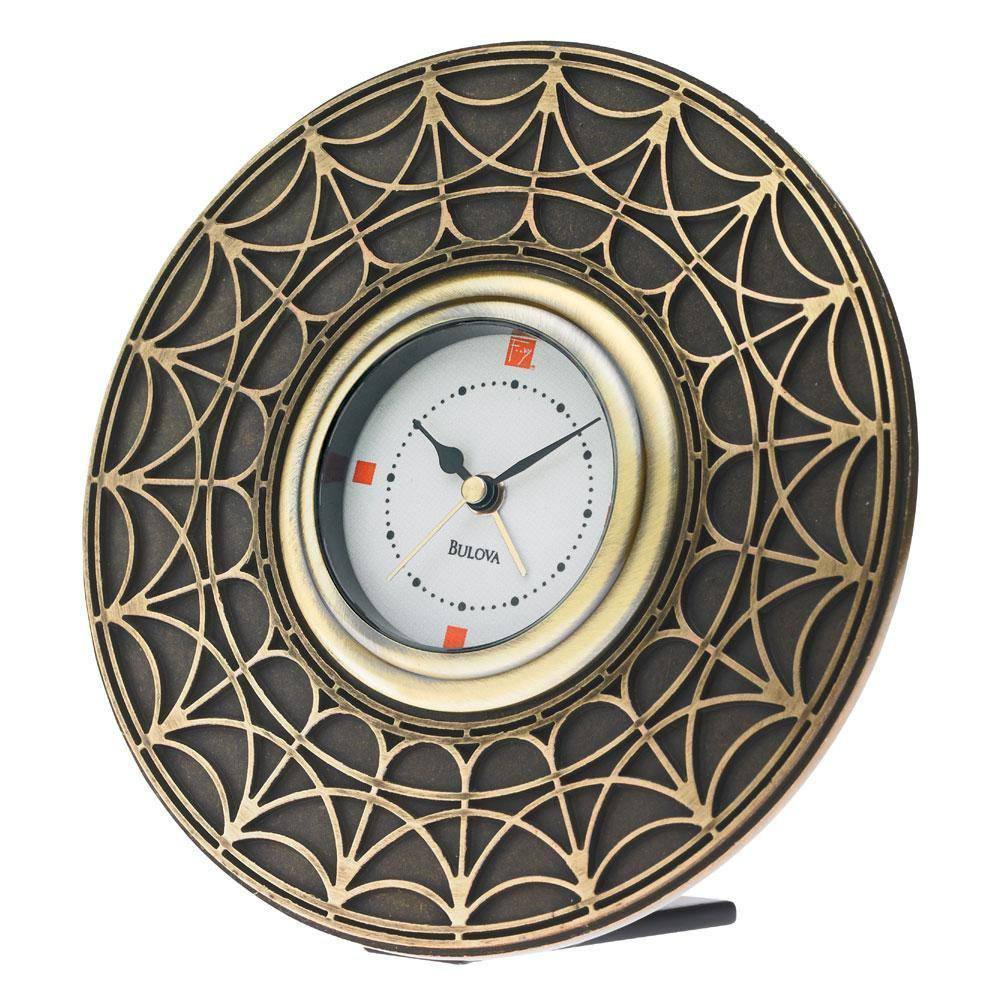 Bulova Blossom House Alarm Clock