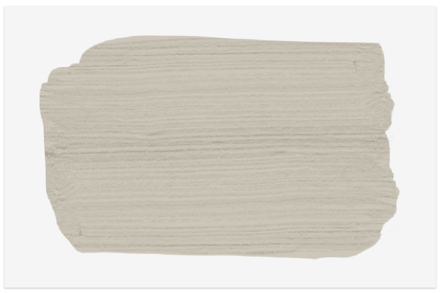 Revere Pewter paint swatch from Benjamin Moore