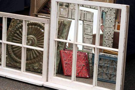 Ways To Repurpose Old Windows As Art