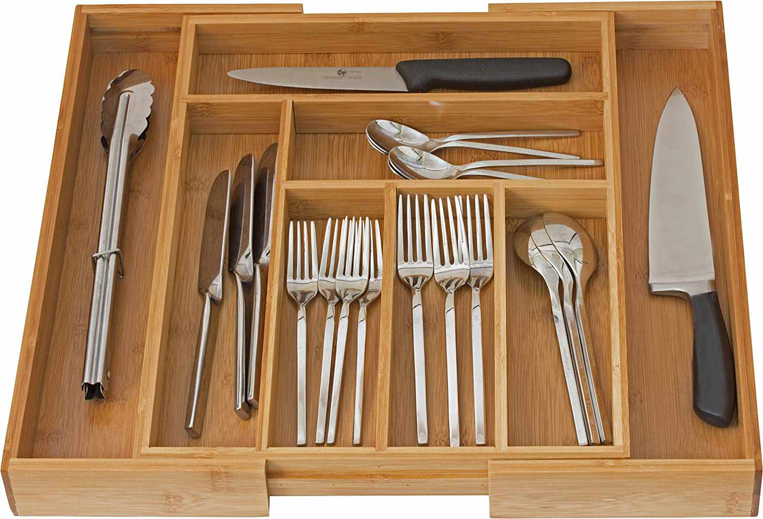 Home-it Expandable Cutlery Drawer Organizer