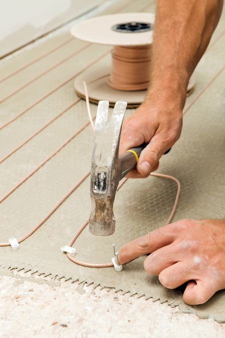 Radiant Heating Subfloor Heated Subfloor Basics - Electric radiant basement floor heating