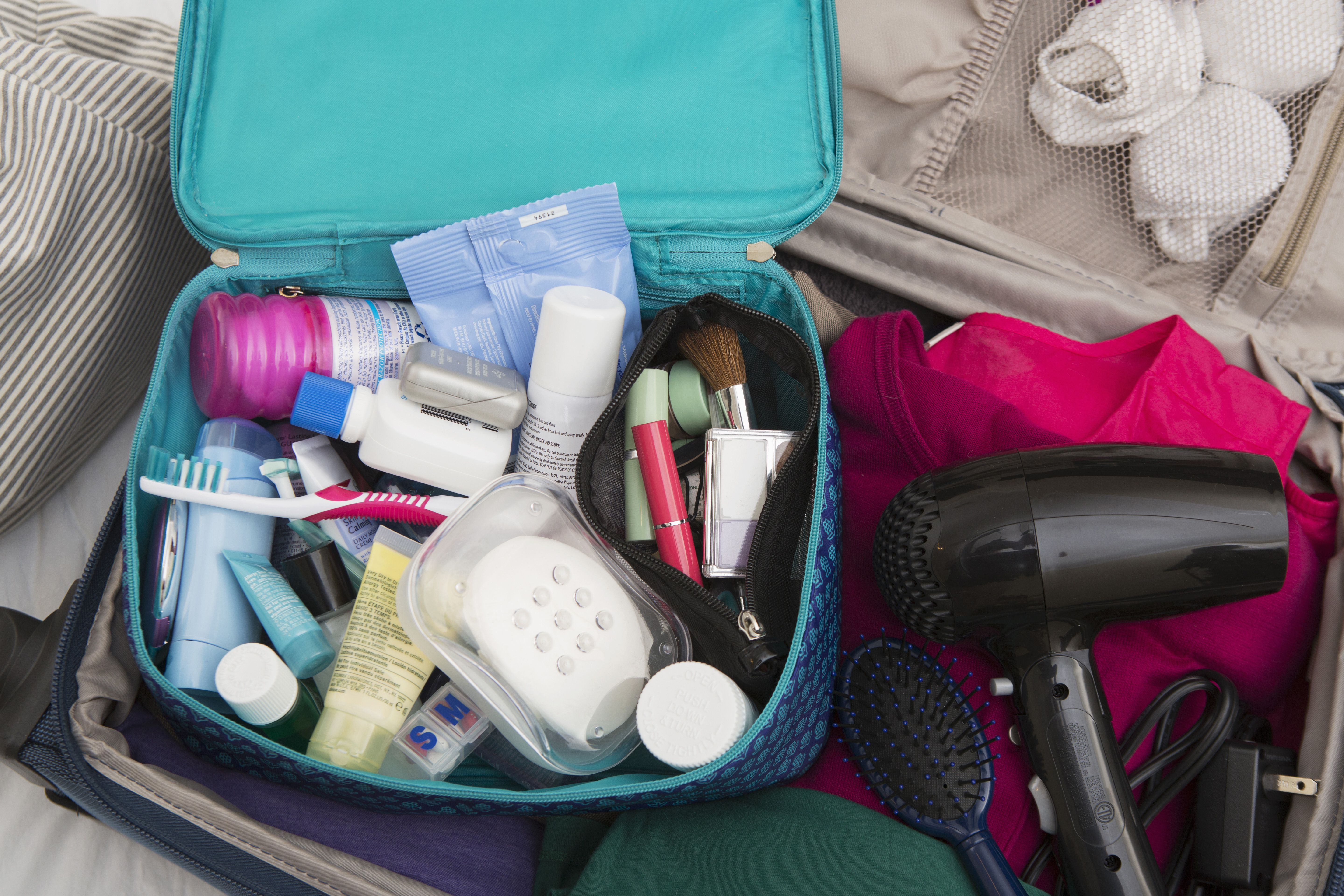 How To Pack Toiletries In One Carry On Bag