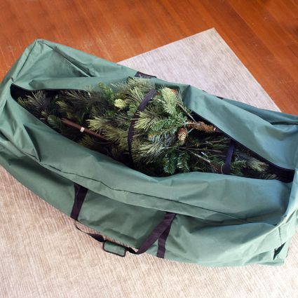 est Choice Products Rolling Duffle Christmas Tree Storage Bag