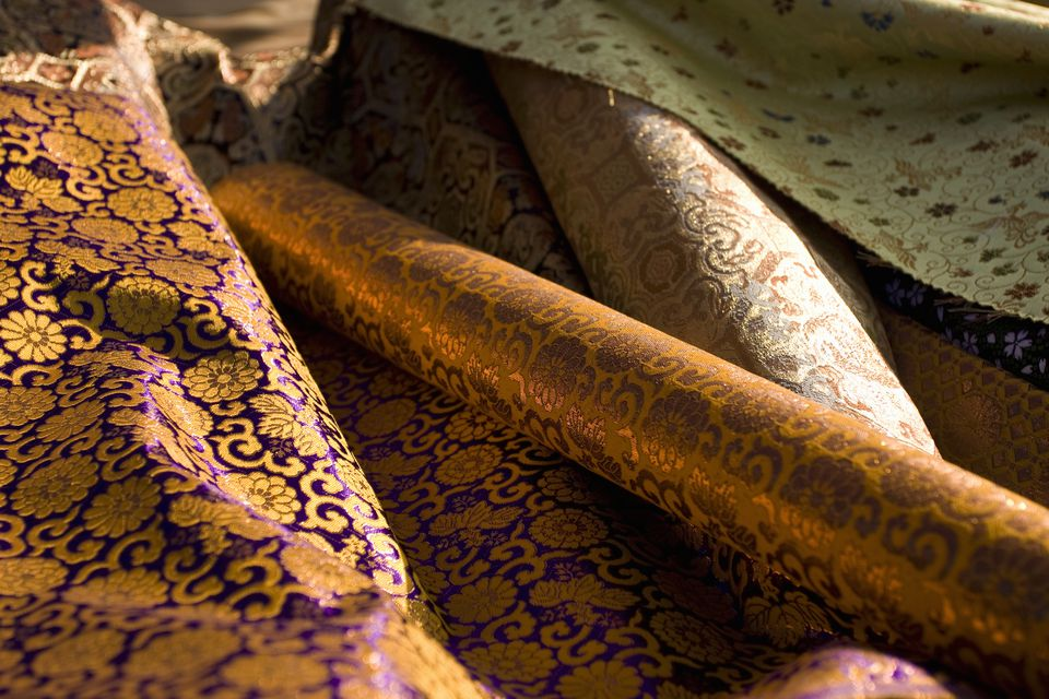 care of brocade fabric