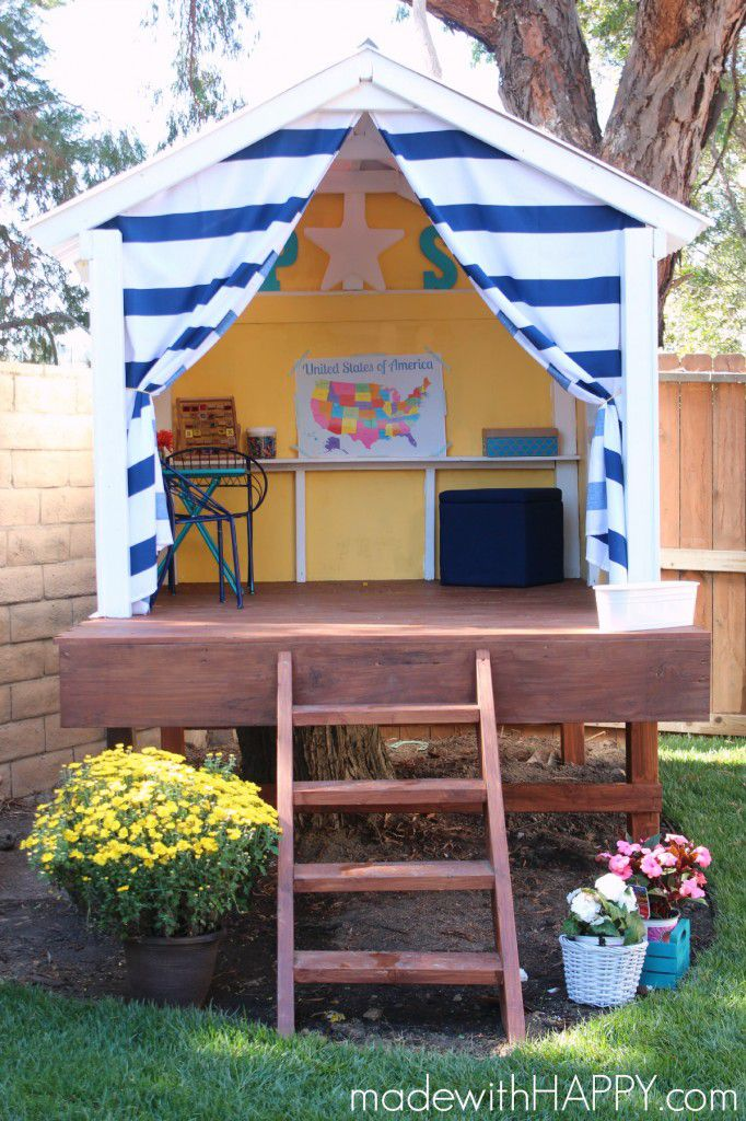 Picture of: 13 Amazing And Diy Able Tree Houses For Kids