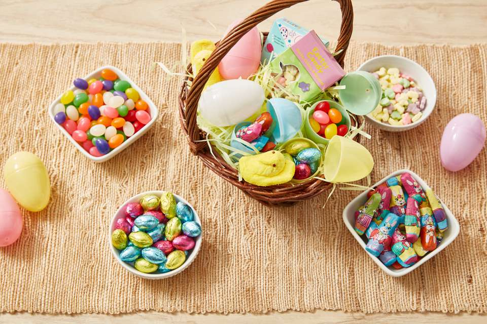 Kids Easter candy basket
