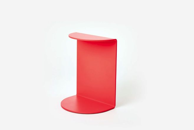 Red bookend