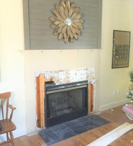 Before Hearth Makeover
