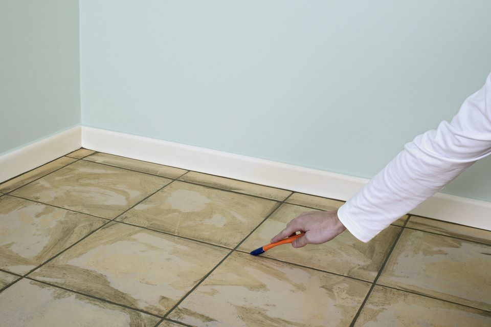 Tile Colorant on Grout