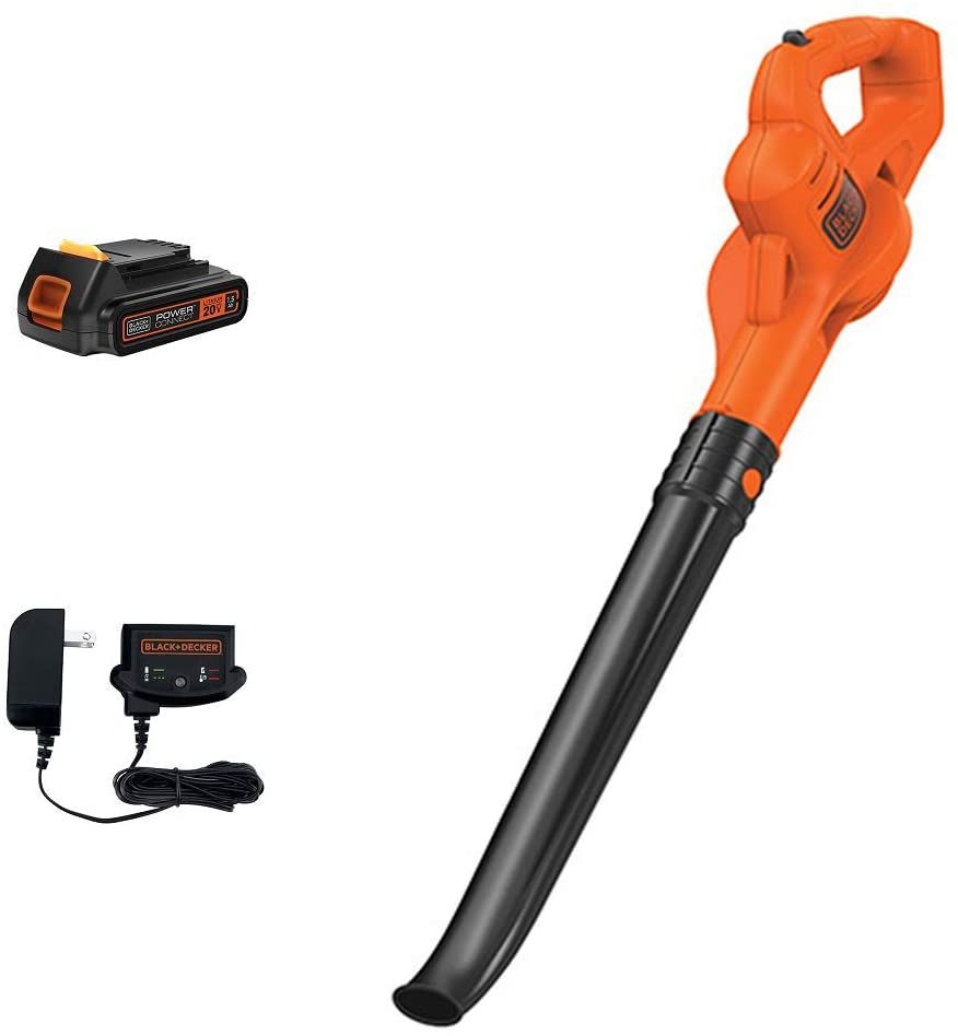 BLACK+DECKER LSW221AM 20V Max Lithium Cordless Sweeper