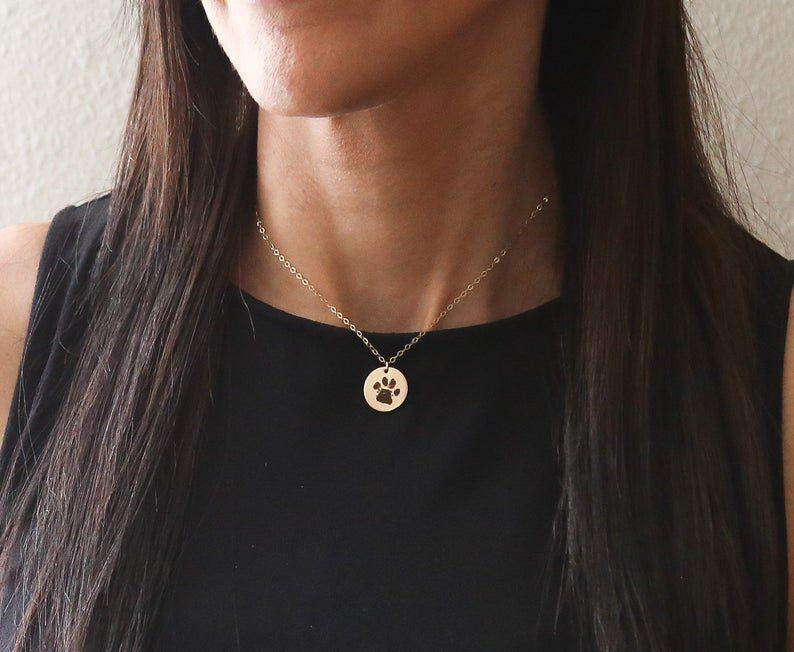 Pawprint Necklace