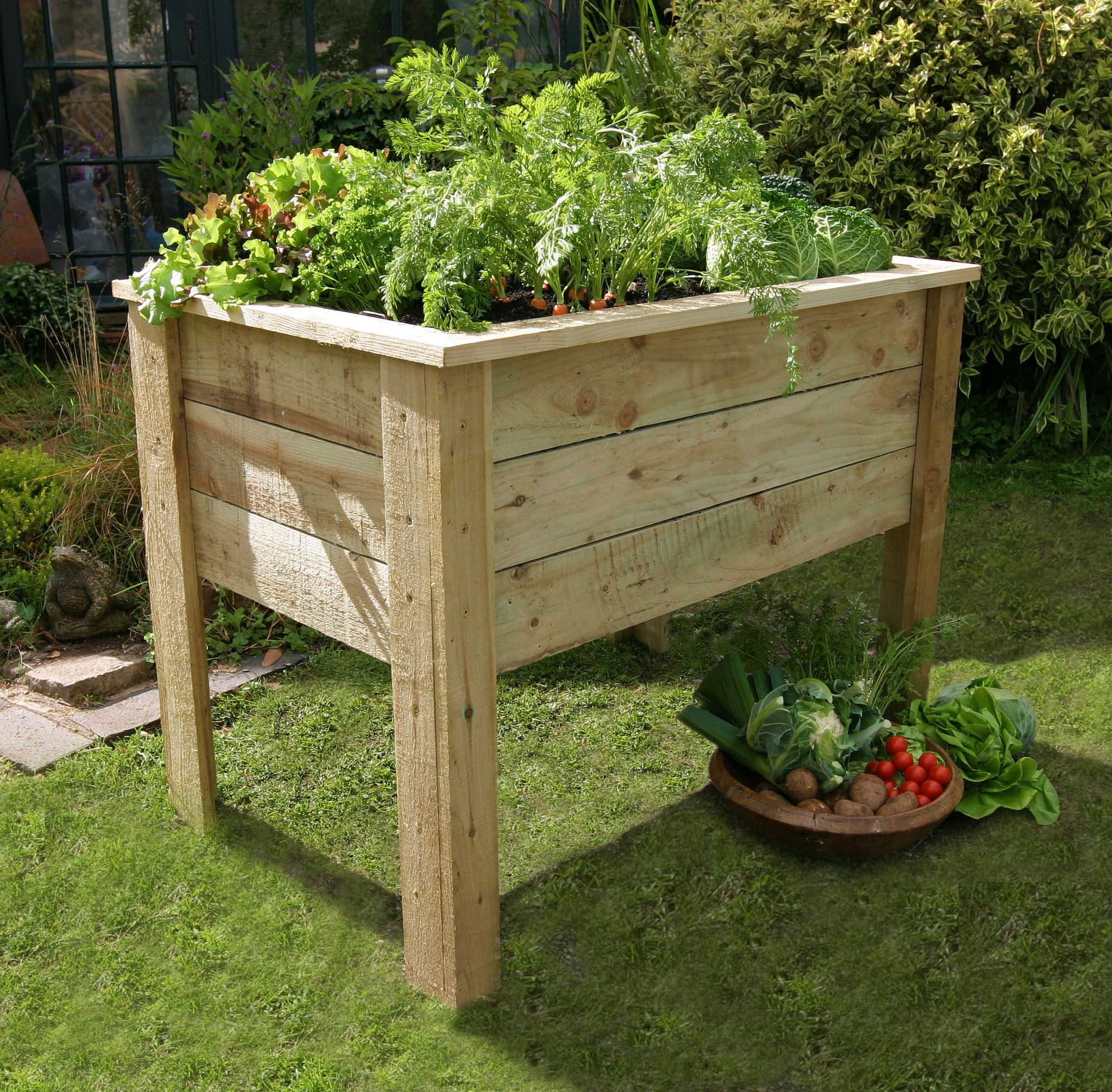 Gardening Beds: How To Build Portable Raised Garden Beds