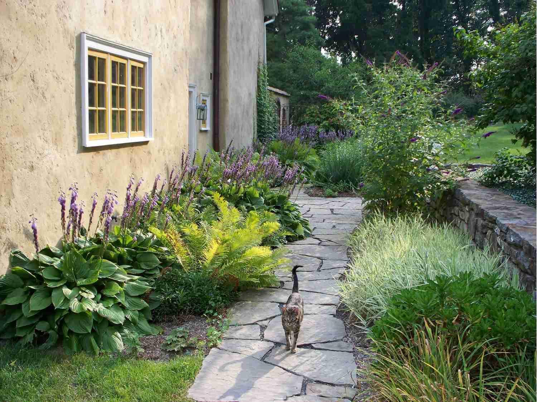 camino de jardín inglés