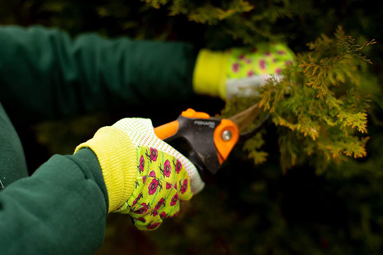 1852-3 Women Soft Jersey Garden Gloves