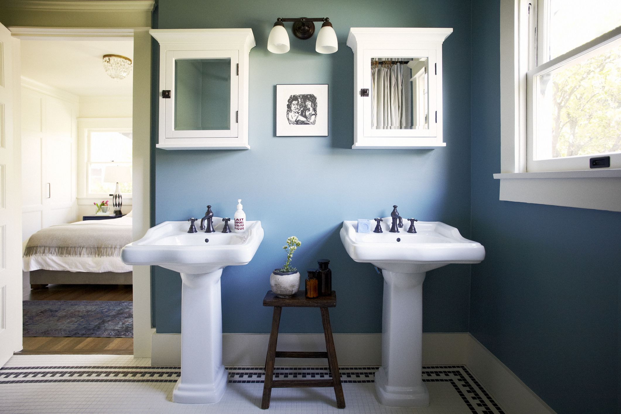 blue bathroom paint ideas 10 beautiful blue bathrooms 16446
