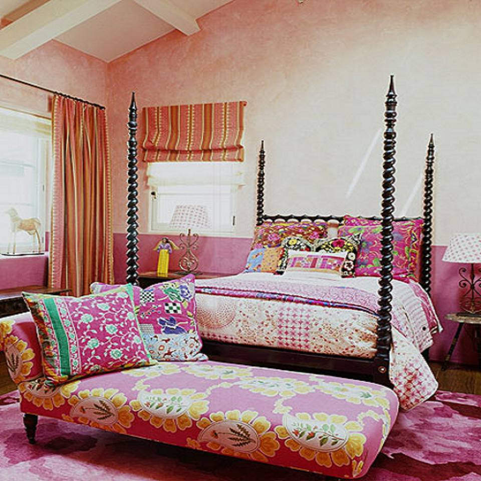 Colorful Boho Room: 22 Beautiful Boho Bedroom Decorating Ideas