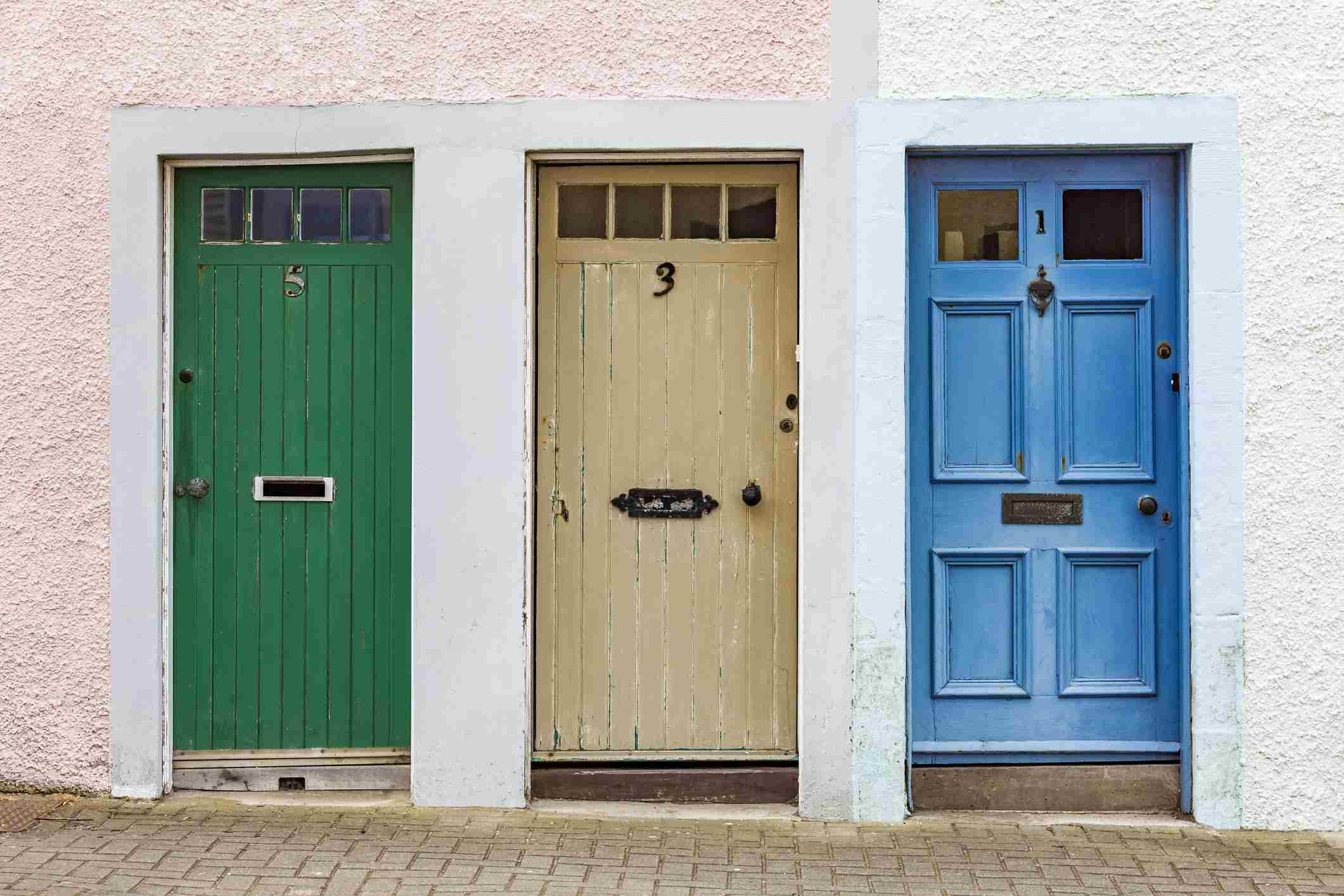 Feng Shui Of Doors And Solutions For Direct Door Alignment