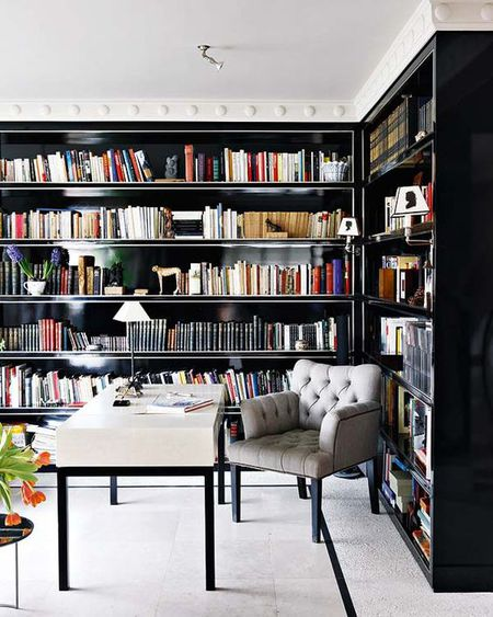 25 Stunning Home Library Design Ideas
