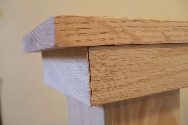 Apply Wood Putty - Crack to Be Filled