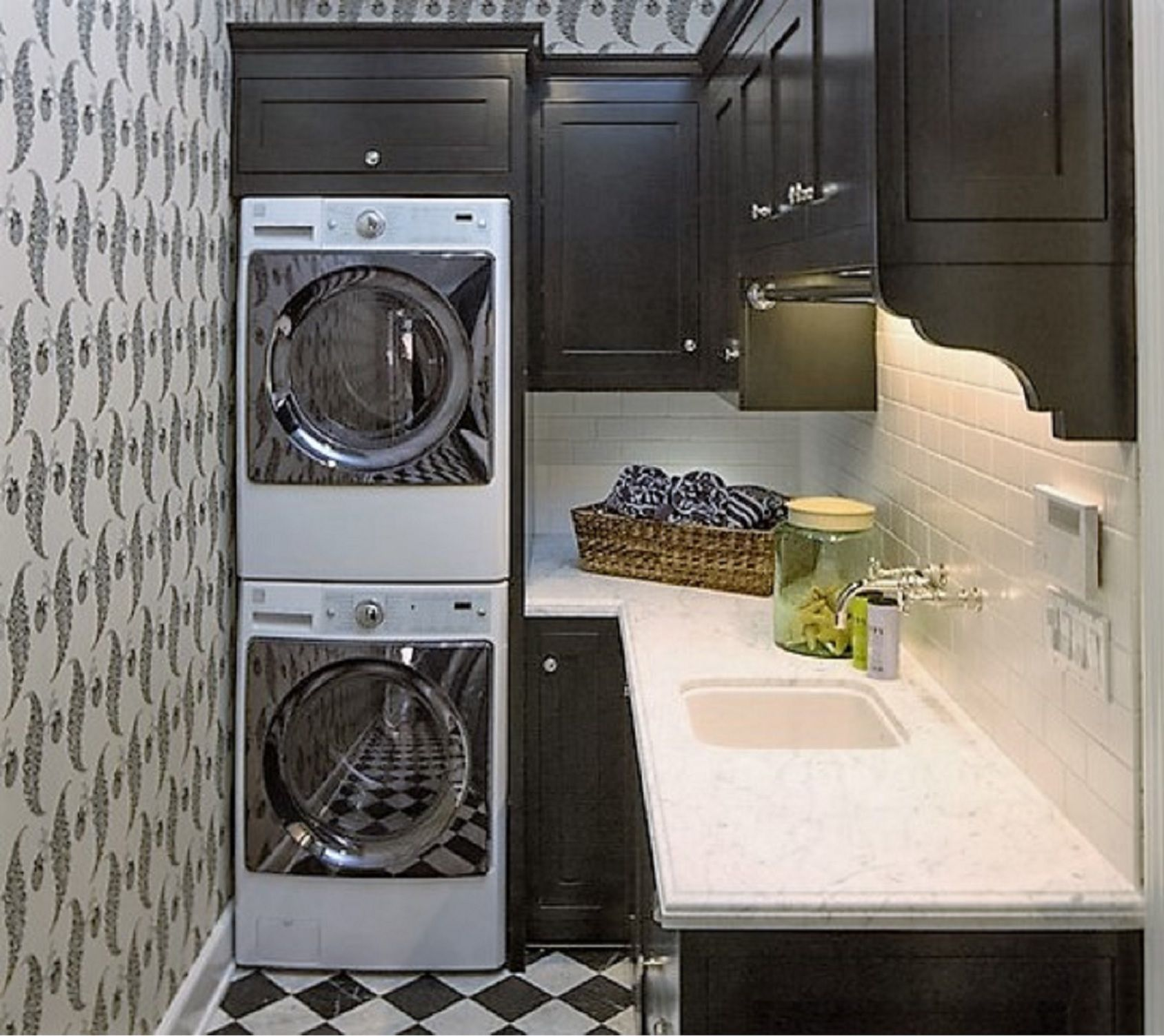 50 Inspiring Laundry Room Design Ideas on kitchen design with high ceilings, kitchen design with butcher block island, bathroom layout with washer dryer, kitchen design with microwave, kitchen design with lots of storage, kitchen with undercounter washer dryer, kitchen design with refrigerator, kitchen sink washer and dryer, kitchen design layout with washer dryer in it,