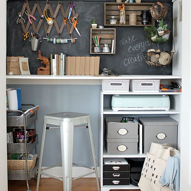 Aimee Page closet office