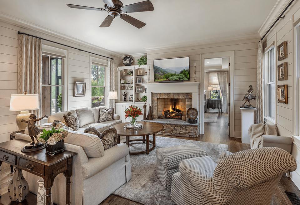 Affordable Ideas For Decorating Living Room Interior: 21 Cozy Living Room Design Ideas