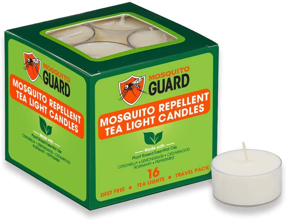 Mosquito Guard Repellent Tea Light Candles