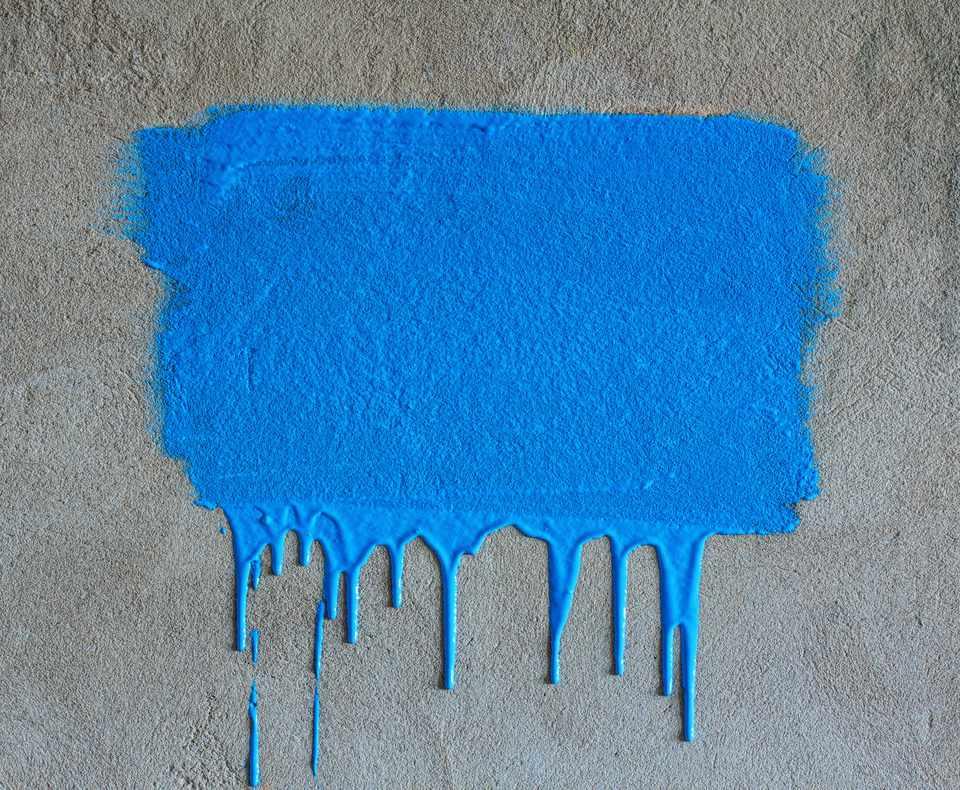 Paint Splatter on Concrete