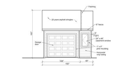 9 free plans for building a garage a diagram of a small garage malvernweather Choice Image