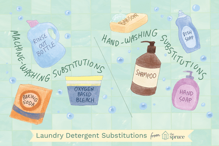 Emergency Laundry Detergent Alternatives