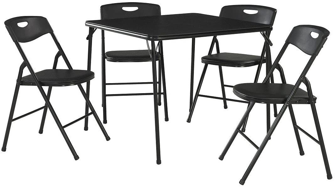 CoscoProducts 5-Piece Folding Table and Chair Set
