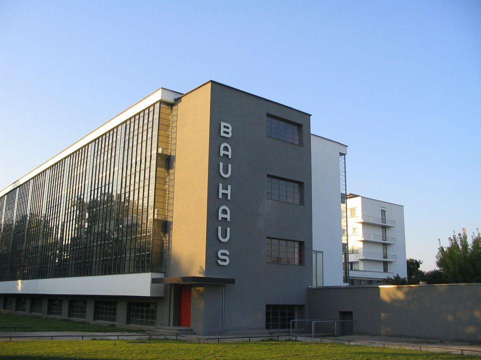 Bauhaus main building designed by Walter Gropius
