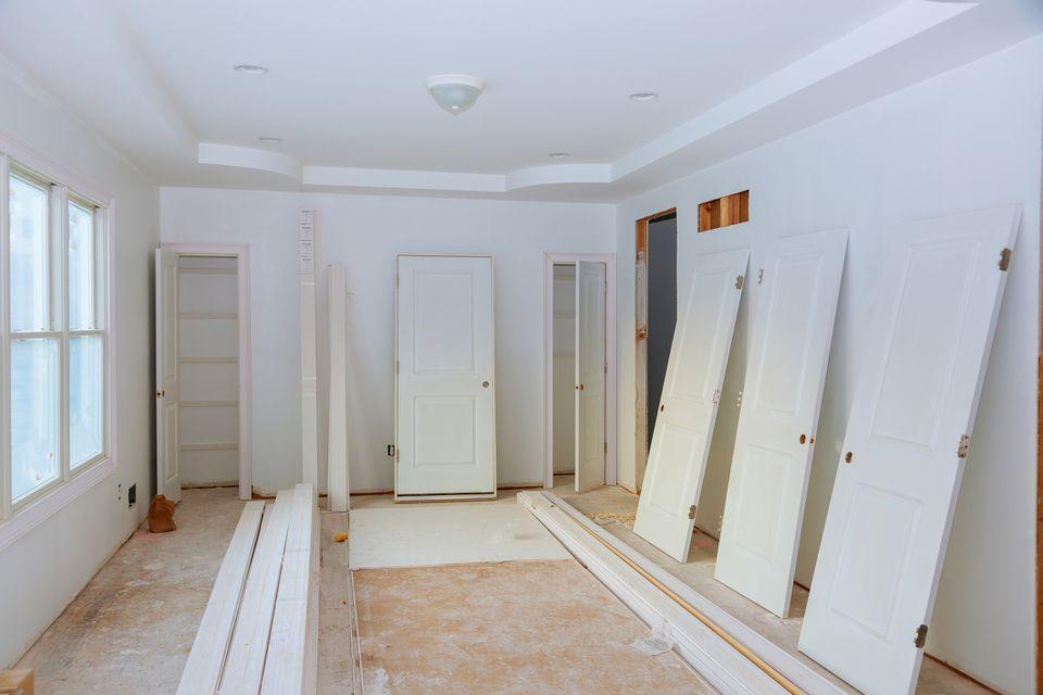 Interior Door With An Exterior