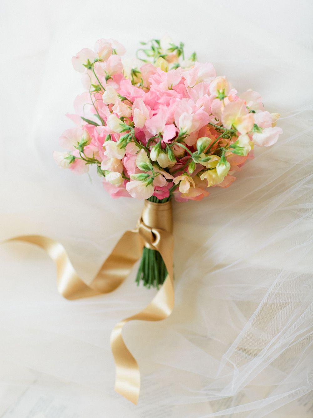 Sweet Pea Winter Wedding Flower