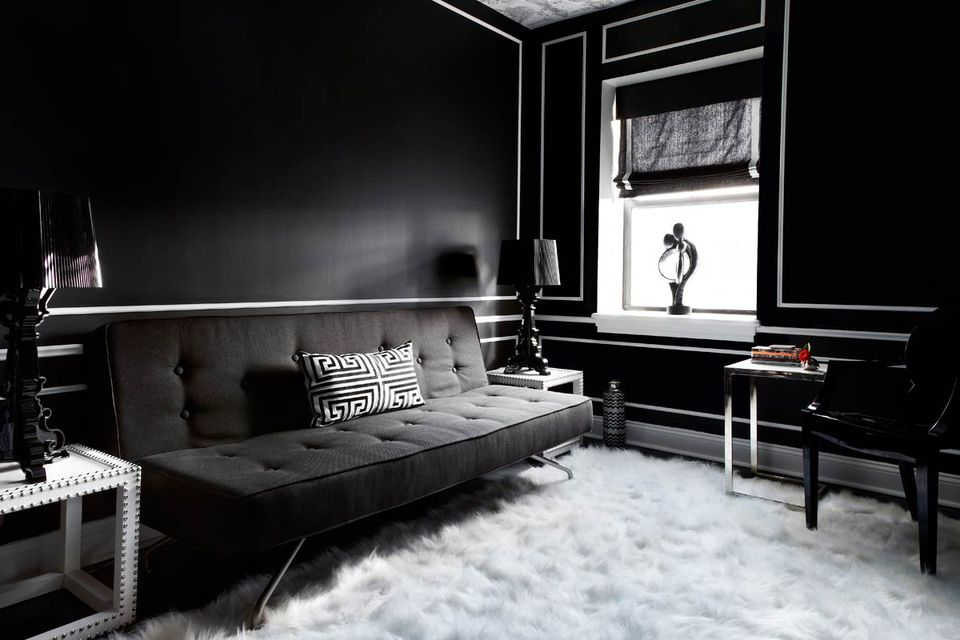 Phenomenal 30 Beautiful Black Rooms Alphanode Cool Chair Designs And Ideas Alphanodeonline
