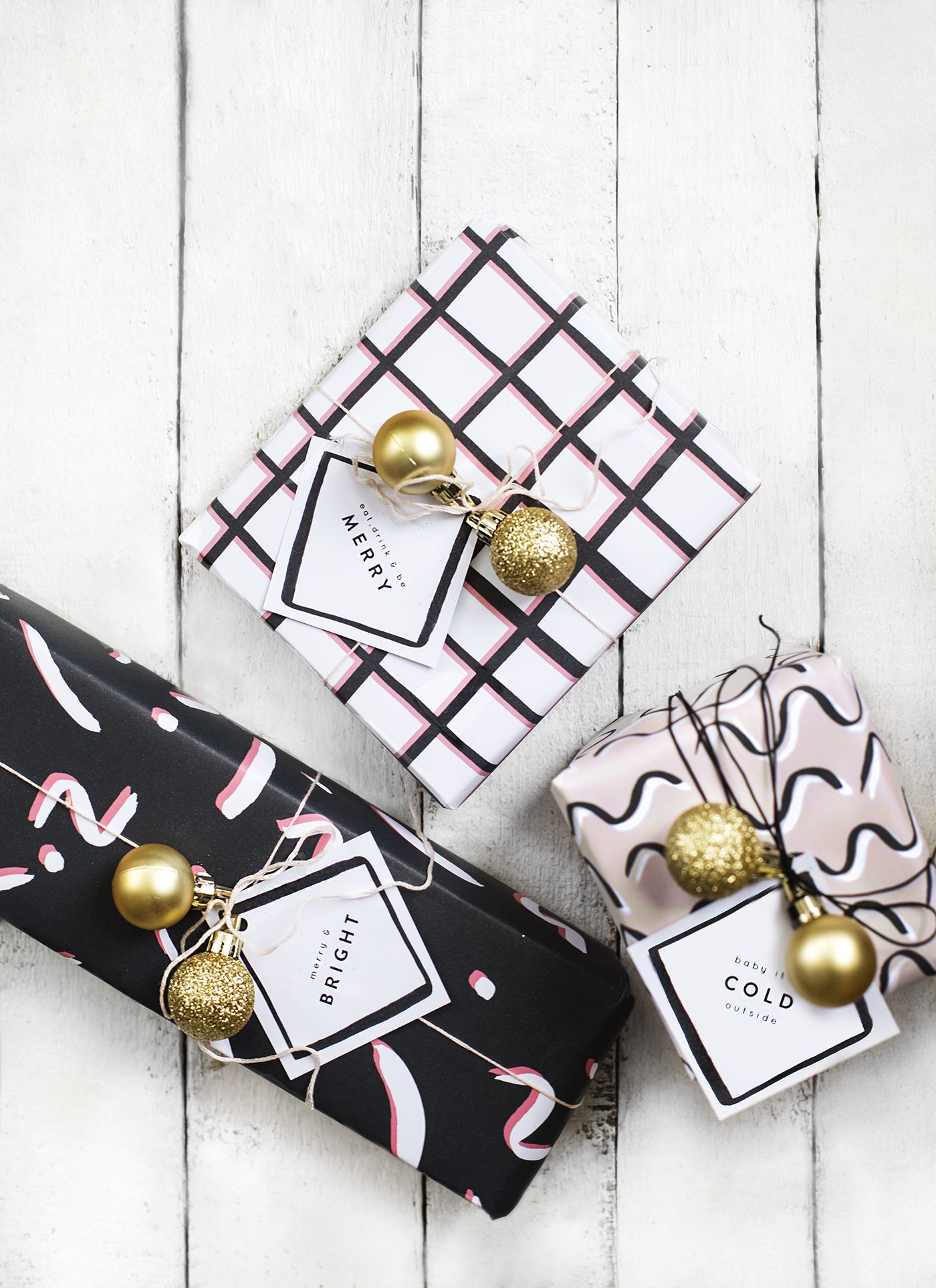 24 Easy DIY Holiday Gift Wrapping Ideas
