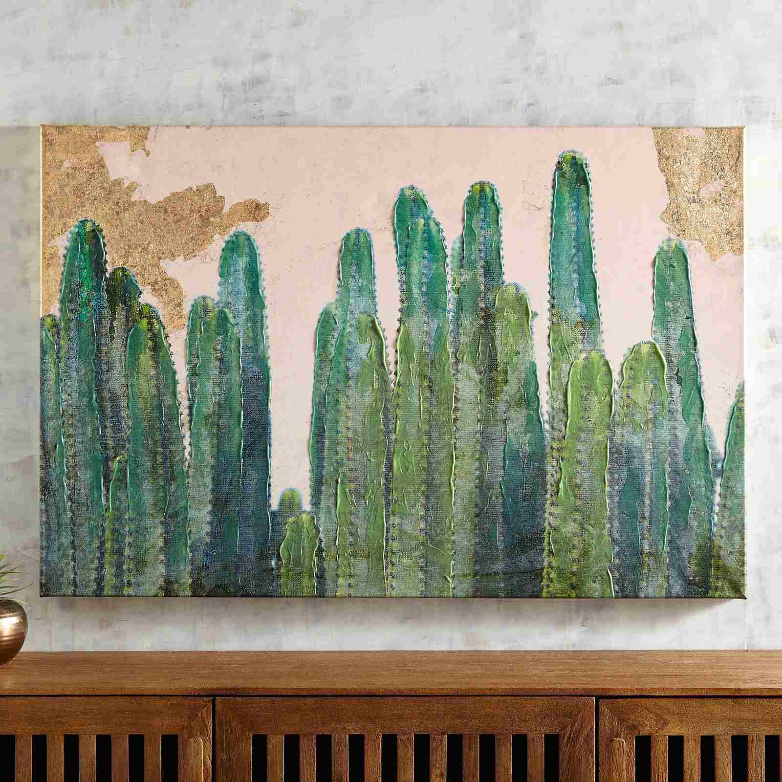 Desert Cactus Wall Art